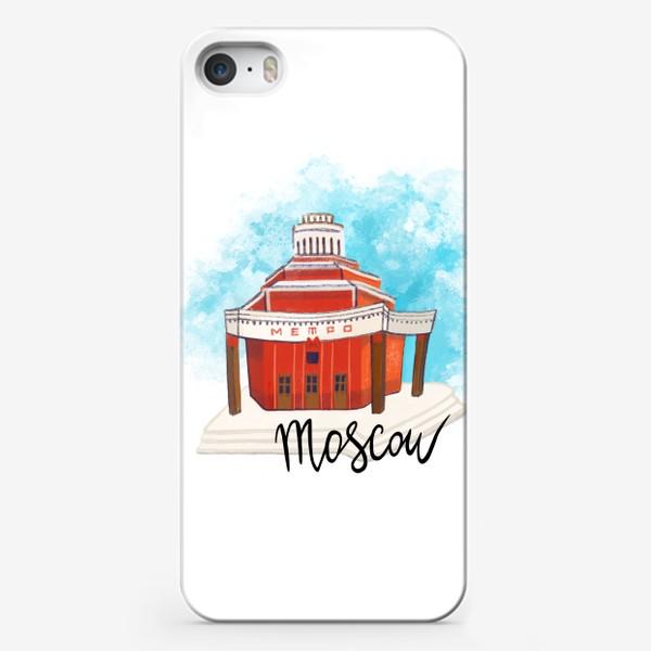 Чехол iPhone «МЕТРО АРБАТСКАЯ»