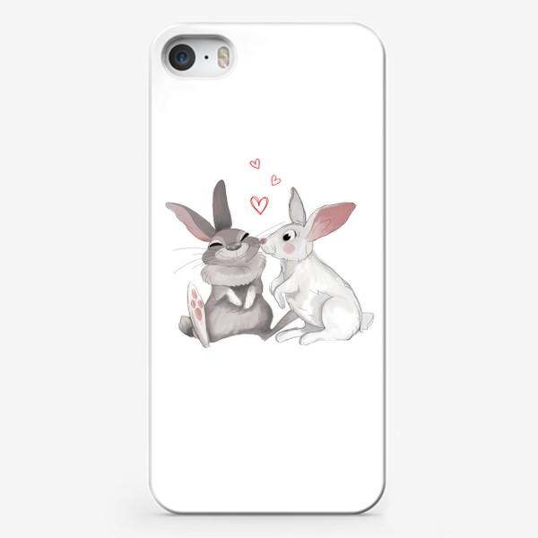 Чехол iPhone «Зайцы»