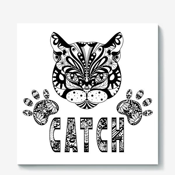 Холст «Кот. Люблю кошек. Коты. Морда кота»