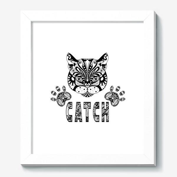 Картина «Кот. Люблю кошек. Коты. Морда кота»