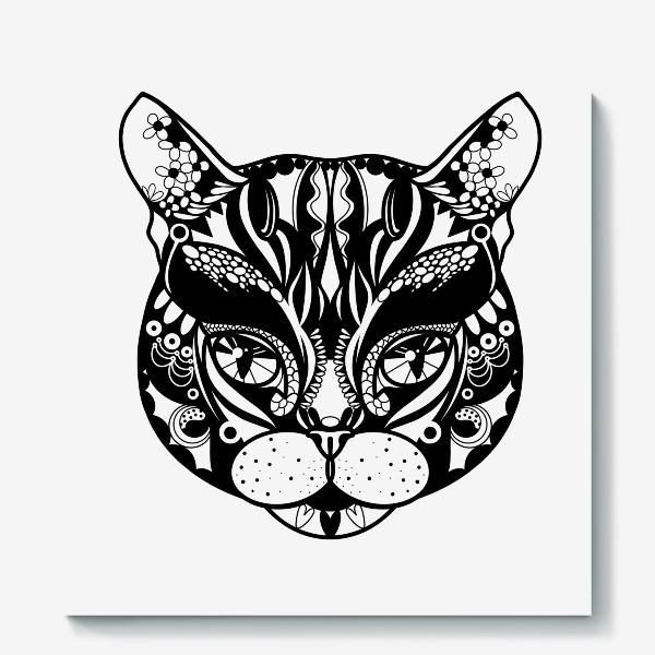 Холст «Морда кота. Кот. Люблю котов»