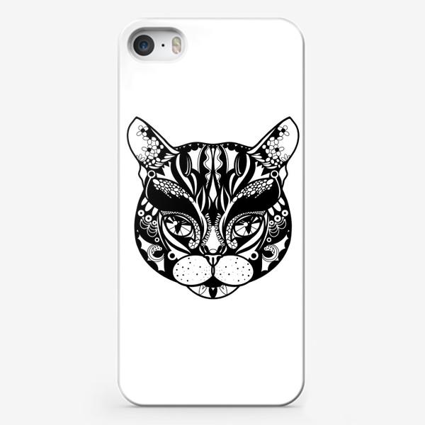 Чехол iPhone «Морда кота. Кот. Люблю котов»