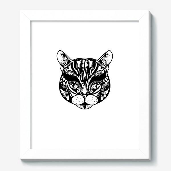 Картина «Морда кота. Кот. Люблю котов»