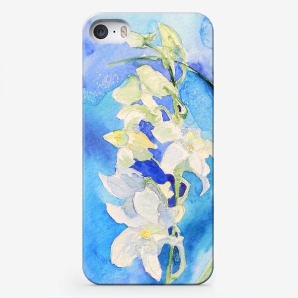 Чехол iPhone «Белая орхидея»