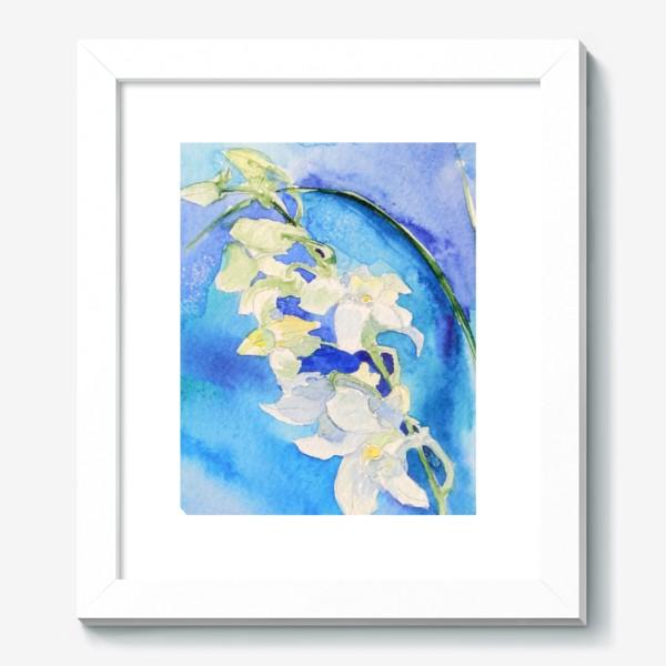 Картина «Белая орхидея»