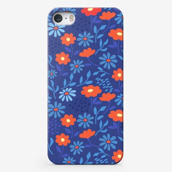 Чехол iPhone «Цветочная лужайка»