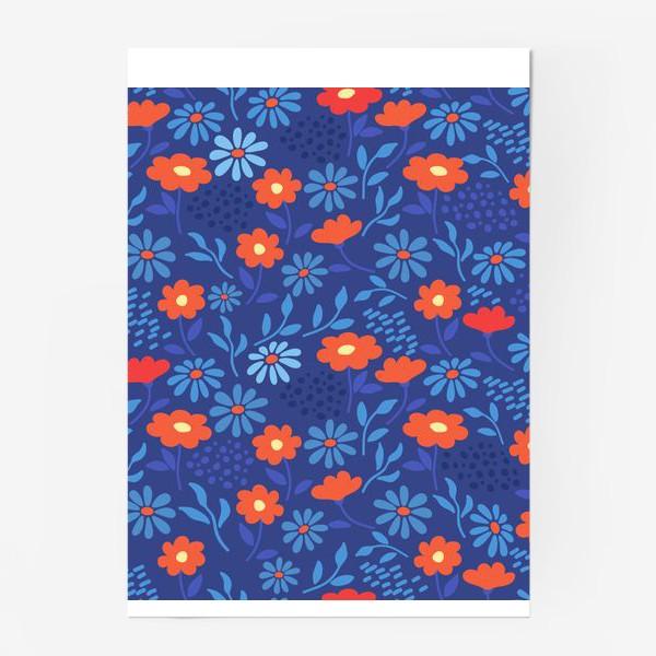 Постер «Цветочная лужайка»
