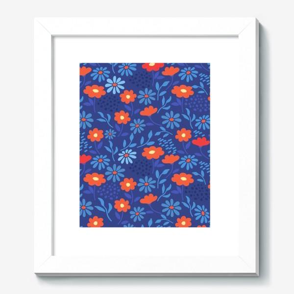 Картина «Цветочная лужайка»