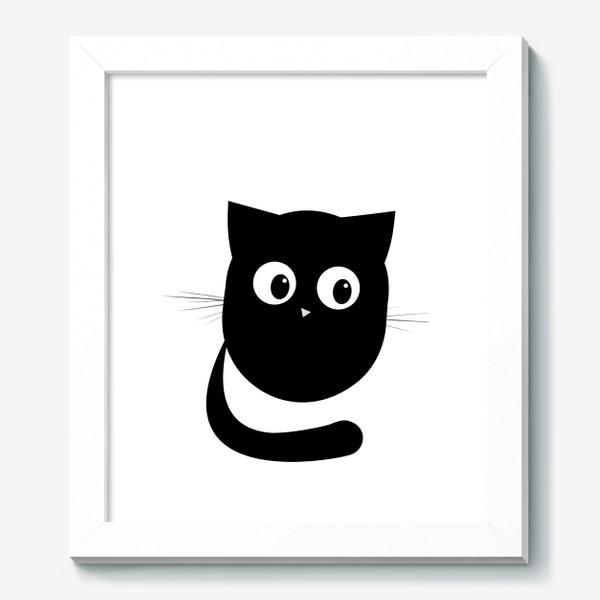 Картина «Нафаня - маленький черный котик»