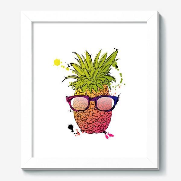 Картина «Иллюстрация летнего ананаса»