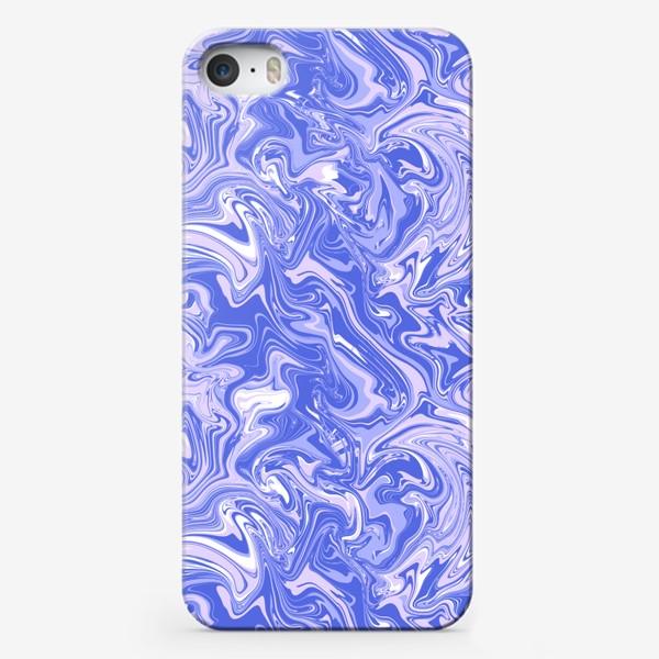 Чехол iPhone «Мраморный узор/Узор эпоксидной смолы»