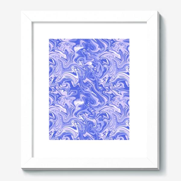 Картина «Мраморный узор/Узор эпоксидной смолы»