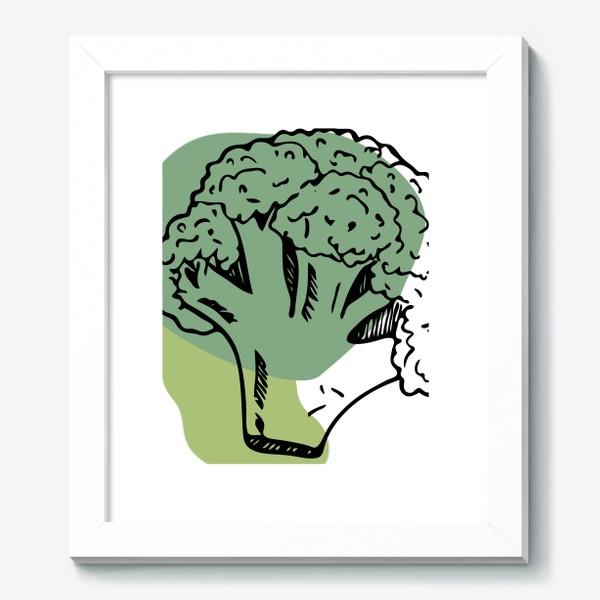 Картина «брокколи»