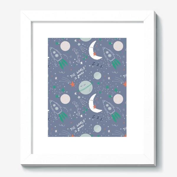 Картина «Детский космический паттерн»