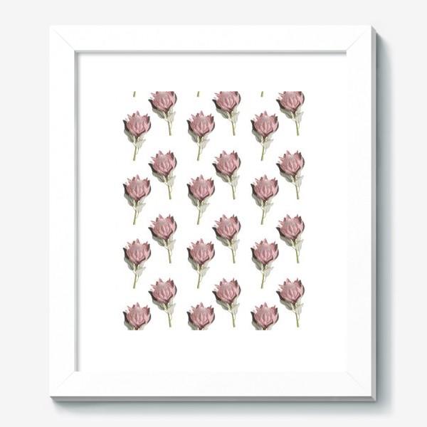 Картина «Паттерн с цветами протеи»