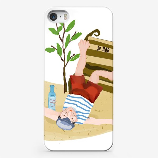 Чехол iPhone «вдв»
