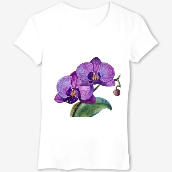 Футболка «Орхидея»