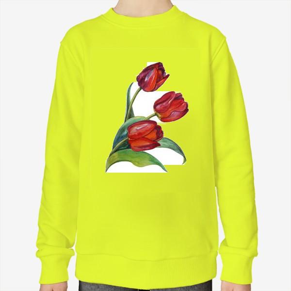 Свитшот «Тюльпаны»