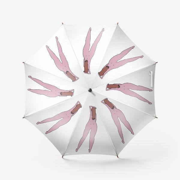 Зонт «Девушка стоит»
