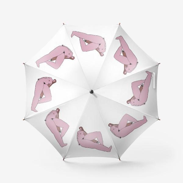 Зонт «Девушка сидит»