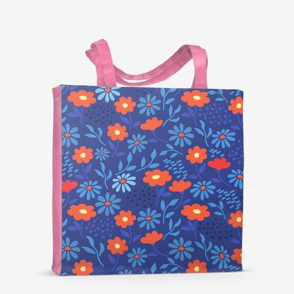 Сумка-шоппер «Цветочная лужайка»