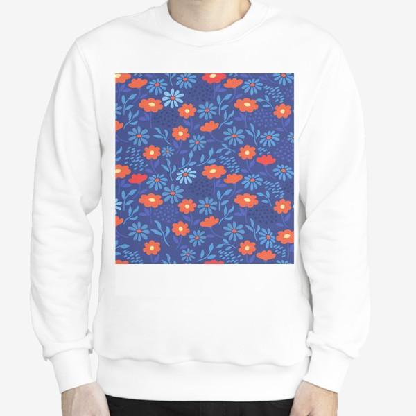 Свитшот «Цветочная лужайка»