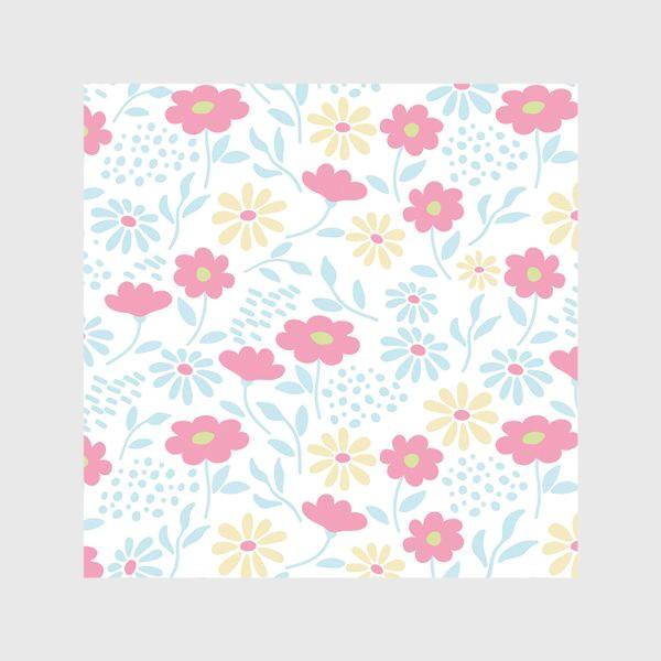 Скатерть «Нежный узор с цветочками»