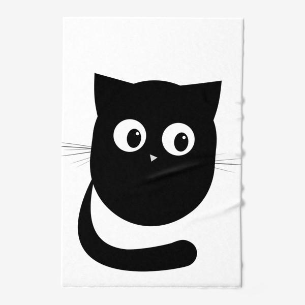 Полотенце «Нафаня - маленький черный котик»