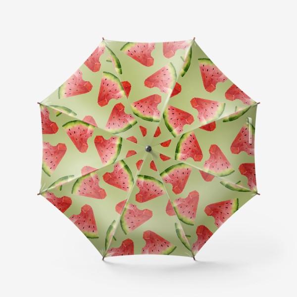 Зонт «Арбузы (паттерн)»