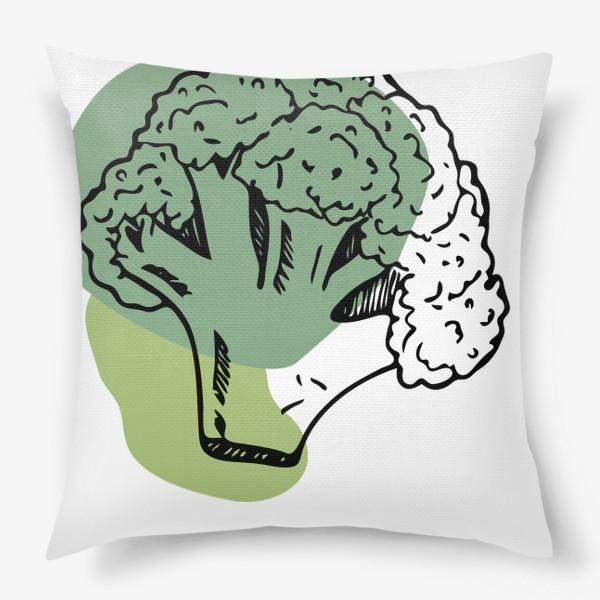 Подушка «брокколи»