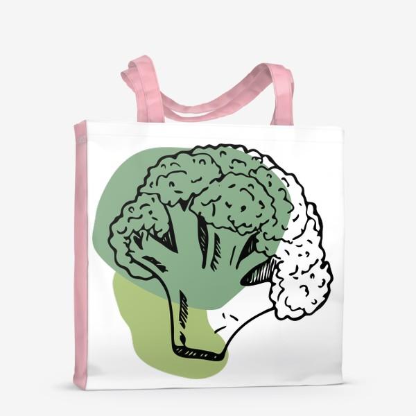 Сумка-шоппер «брокколи»