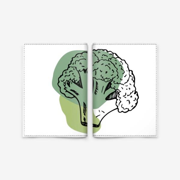 Обложка для паспорта «брокколи»