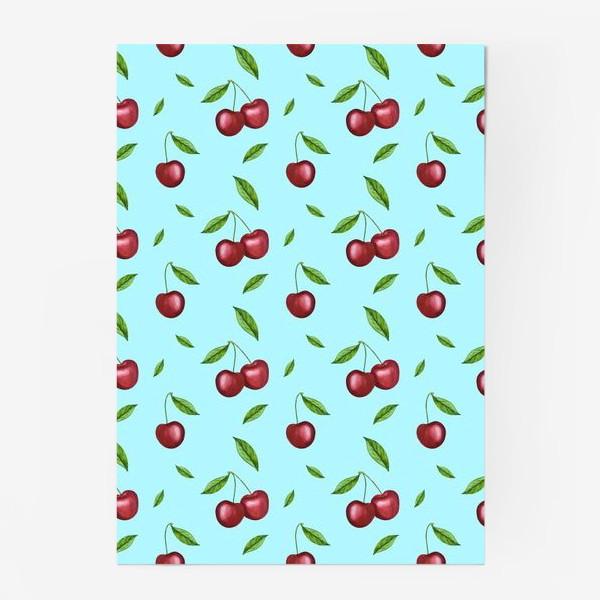 Постер «Черешня, вишня на голубом»