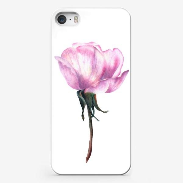 Чехол iPhone «Нежность розы»