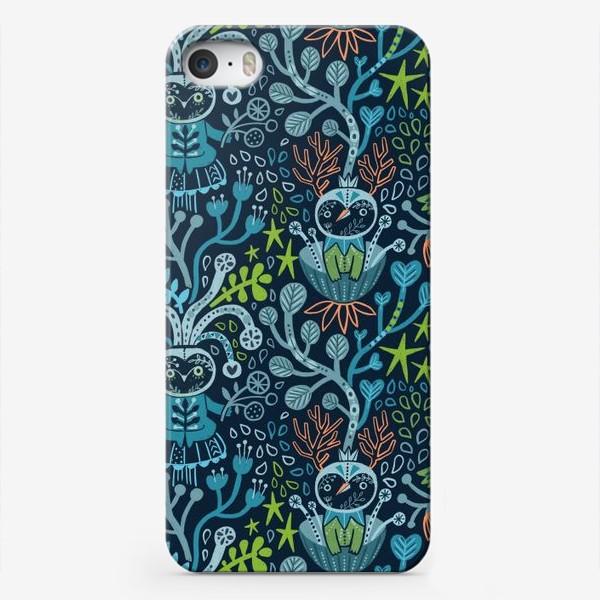 Чехол iPhone «Лесные чудики»