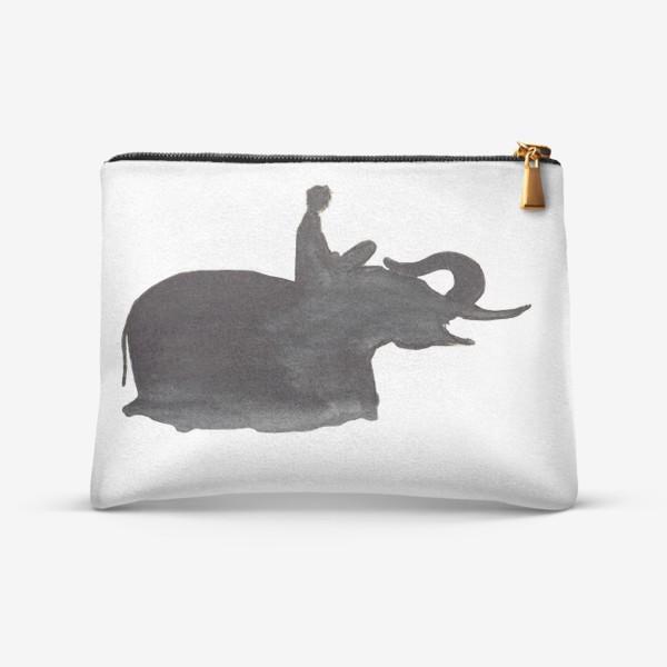 Косметичка «На слоне. Верхом на мечте...»