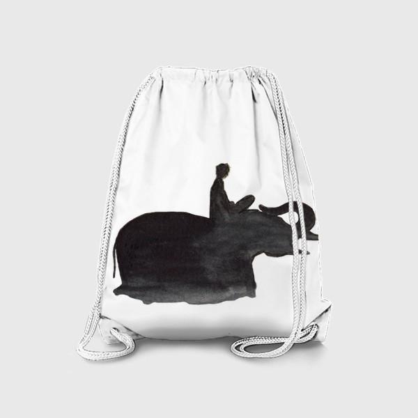 Рюкзак «На слоне. Верхом на мечте...»