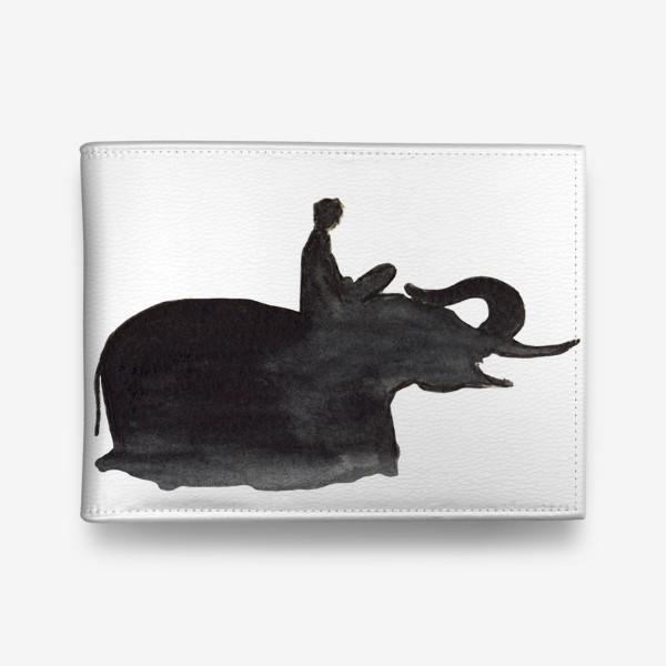 Кошелек «На слоне. Верхом на мечте...»
