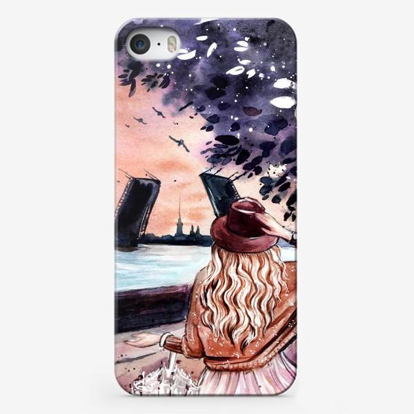 Чехол iPhone «белые ночи в Санкт-Петербурге»