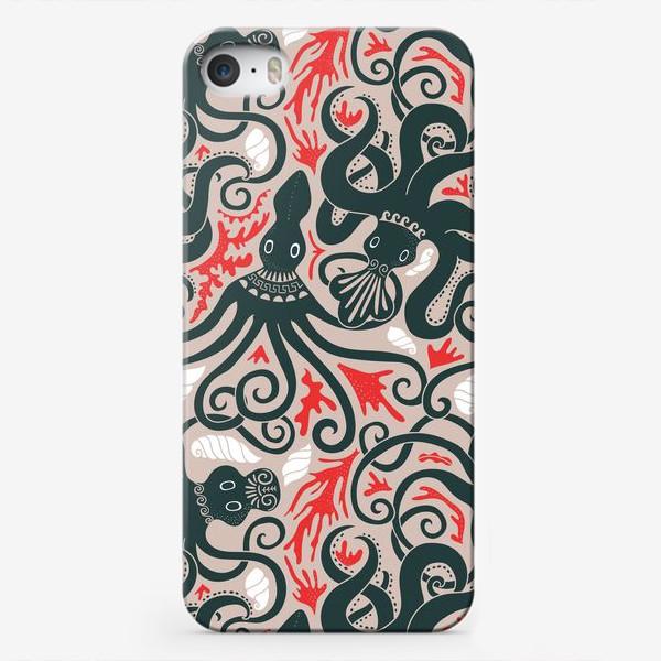 Чехол iPhone «Минойские греческие осьминоги»