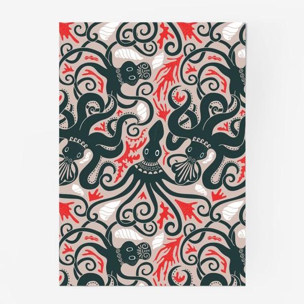 Постер «Минойские греческие осьминоги»