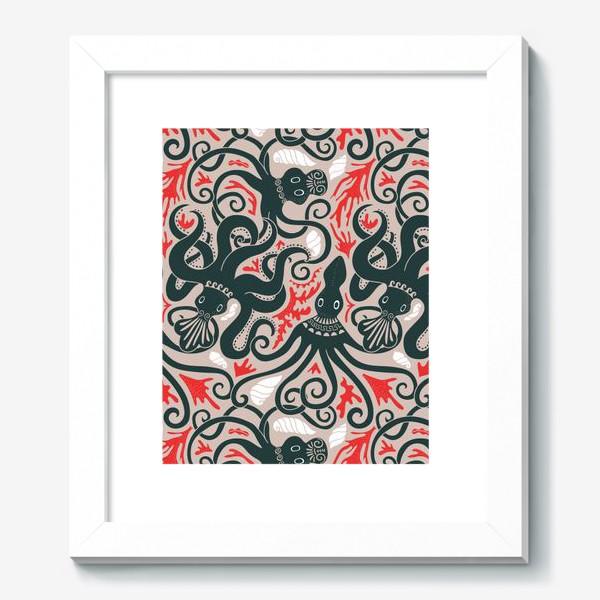Картина «Минойские греческие осьминоги»