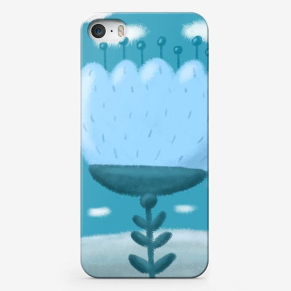 Чехол iPhone «Цветок »