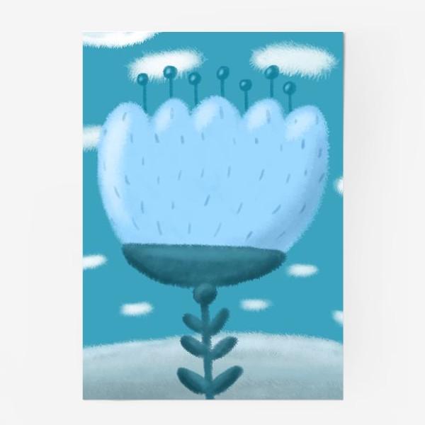 Постер «Цветок »