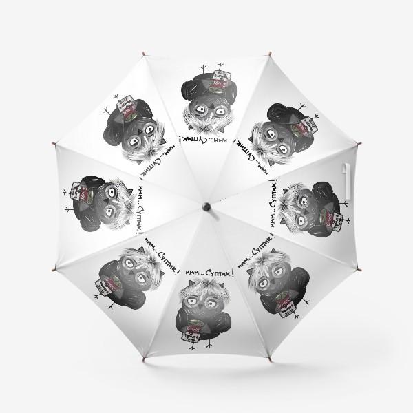 Зонт «Сова Уорхол»