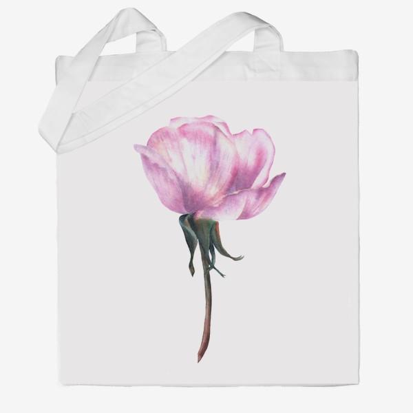 Сумка хб «Нежность розы»