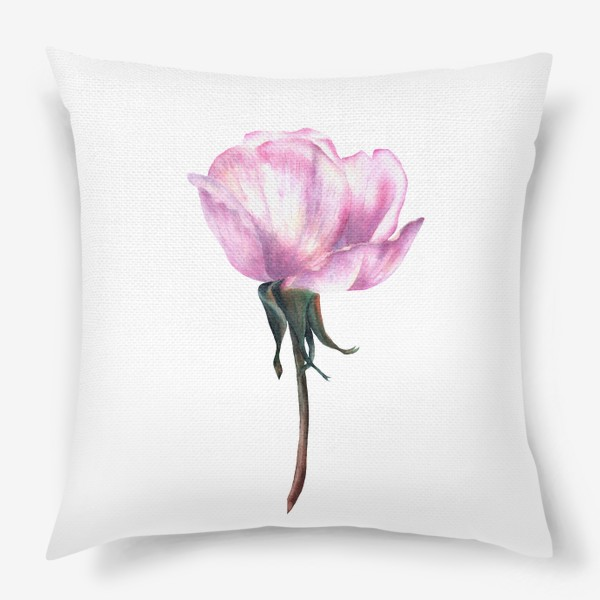 Подушка «Нежность розы»