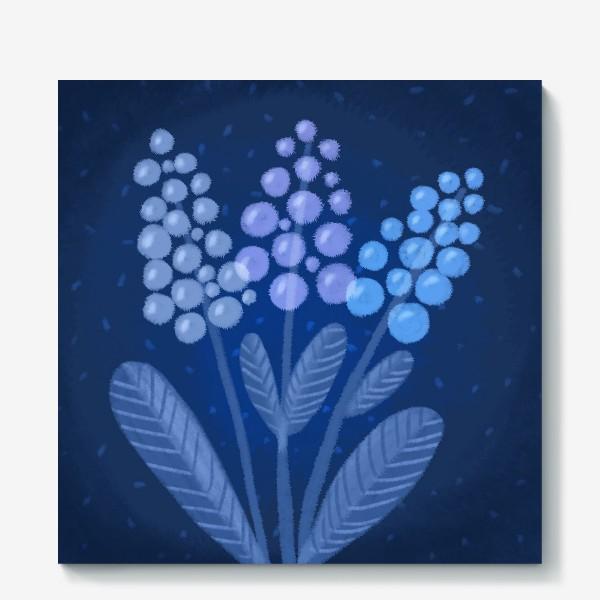 Холст «Лунные цветы»