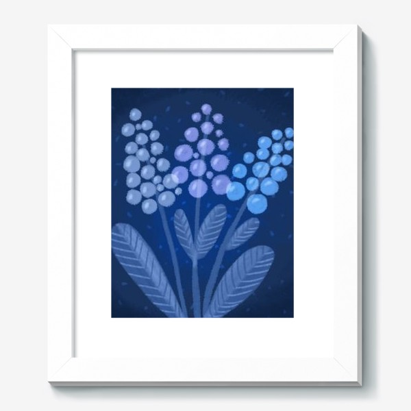 Картина «Лунные цветы»