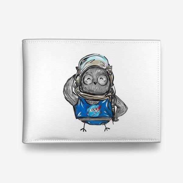 Кошелек «Совушка Фильх - космонавт»